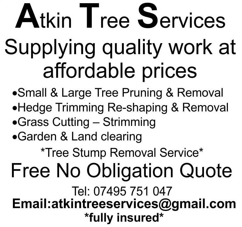 R Atkin Tree Services