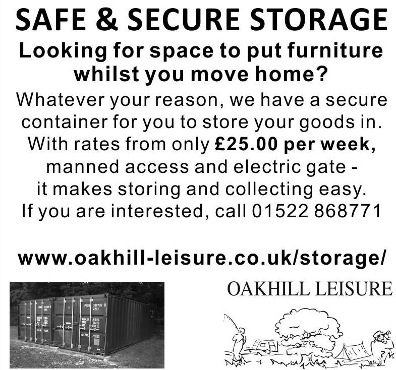 Oakhill Caravan Storage