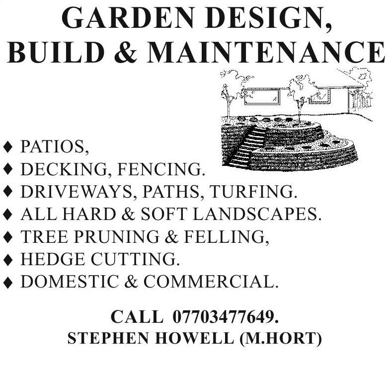 Stephen Howell garden design